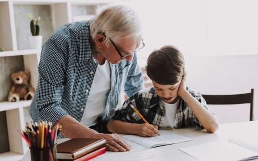 About 47,000 Maryland grandparents are raising their grandkids and some struggle with supporting learning at home. (Adobe stock)<br /><br />
