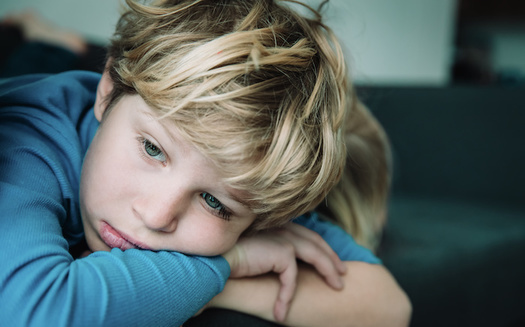 Nationwide, more kids tell researchers they are struggling with loneliness and isolation one year into the pandemic. (Adobe Stock)<br />