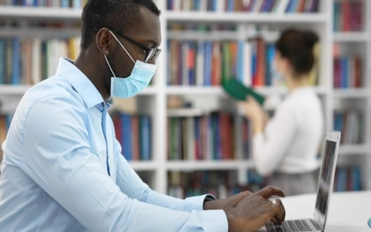 Public library officials touted their facilities have allowed people to apply for jobless benefits, check the status of their stimulus payments, and do other critical tasks during the pandemic. (Adobe Stock)