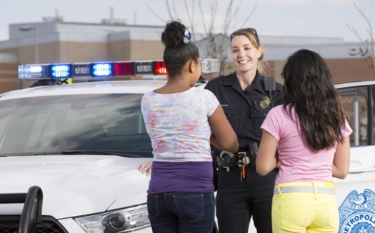 Maryland's General Assembly is considering two bills that would reduce the number of police in public schools. (Adobe stock)