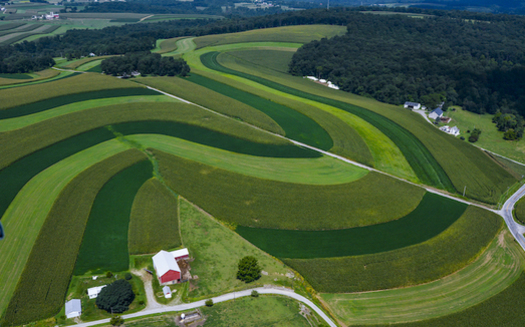 Senate Bill 465 will offer funding to help farmers reduce runoff into local streams and protect their long-term viability. (Photo: CBF)