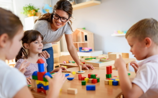 Enrollment in Virginia's child-care assistance program declined 27% during the pandemic. (Adobe stock)