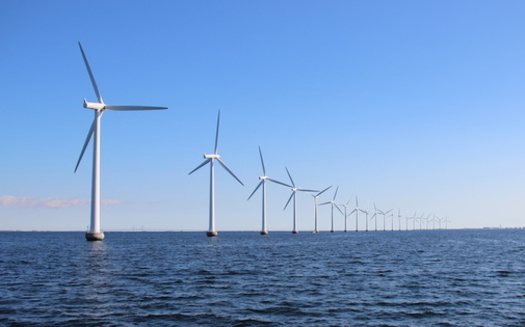 President Joe Biden's American Jobs Plan seeks to establish the United States as a leader in climate science and innovation, including through offshore wind projects in Maine. (chrisrt/Adobe Stock)