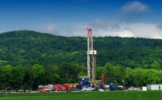During the Trump administration, oil and gas companies acquired more than 7,000 federal drilling permits and stockpiled more than 13 million acres of oil and gas leases on public lands. (Nicholas A. Tonelli/Flickr)
