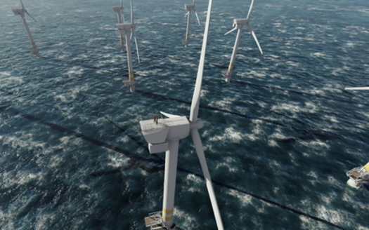 Dominion Energy plans a wind farm off of Virginia's east coast that experts say would provide 10,000 jobs during six years of construction. (Adobe stock)