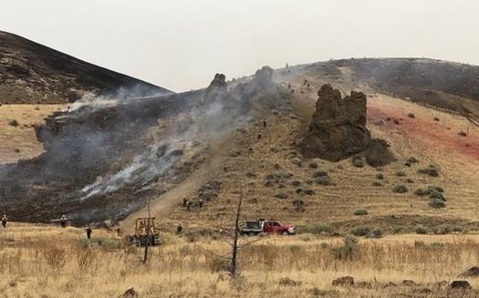More than a million acres in Oregon burned during the 2020 wildfire season. (Larisa Bogardus/U.S. Bureau of Land Management)