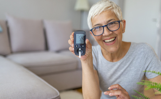 People with complications of diabetes and COVID-19 are at higher risk of pneumonia, respiratory failure, hospitalization, and being placed on a ventilator. (Adobe Stock)