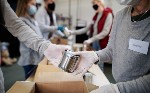 Idaho food pantries have been filling the need this month, as more than 40,000 families have seen their emergency food benefits decrease. (Halfpoint/Adobe Stock)