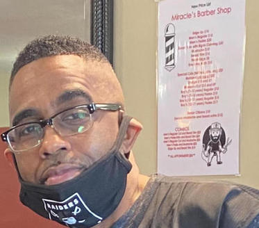 In Roxboro, N.C., Miracles Barbershop owner Derrick Pettiford says training barbers on heart health could help save clients' lives. (Derrick Pettiford)