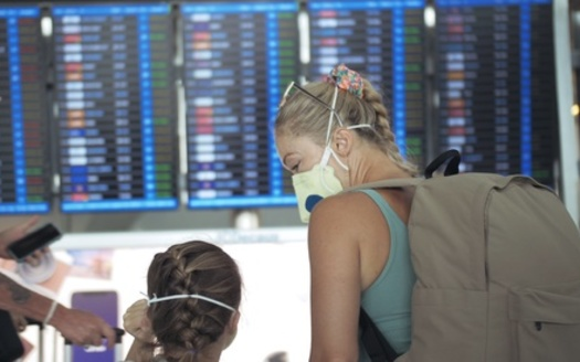 In accordance with a TSA face-mask requirement extension through mid-September, all travelers - even those who are fully vaccinated - must wear masks and practice COVID-safe behavior at all U.S. airports, and aboard commercial aircraft. (Adobe Stock)