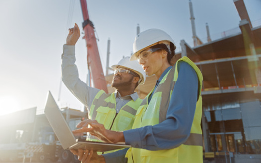 Only 5% of engineers were Black in 2019, and just 6% were Latinx, according to a new report. (Gorodenkoff/Adobe Stock)