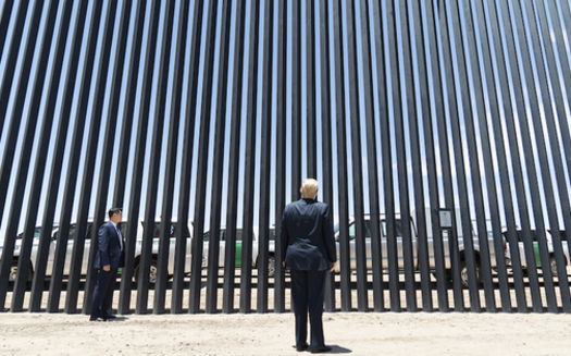 To fulfill President Donald Trump's promised U.S.-Mexico border wall, the administration waived requirements for environmental reviews and mediation. (wikipedia)