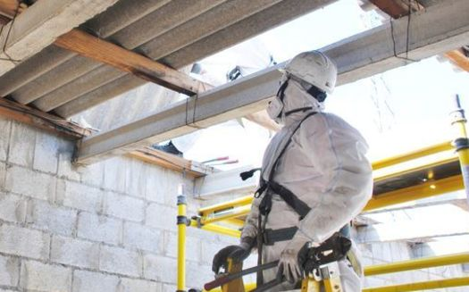 Lung-scarring injuries and various types of cancers caused by exposure to asbestos were, in many cases, not diagnosed for many years after the exposure took place. (Adobe Stock)