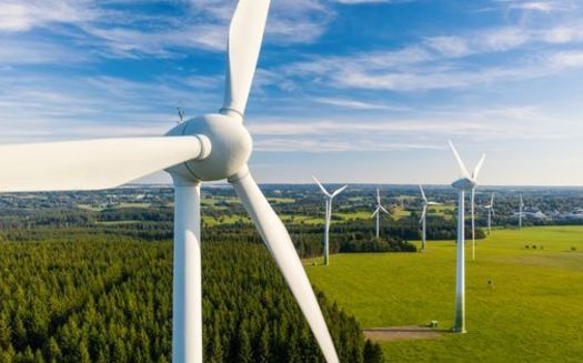 A new report says 41% of North Dakota counties receive property tax revenue from wind farms. (Adobe Stock)