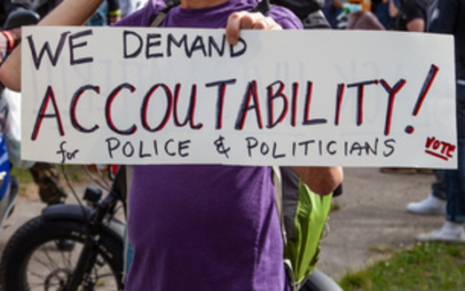 Police accountability has become a sticking point as a special legislative session in Minnesota winds down this week. (Adobe Stock)