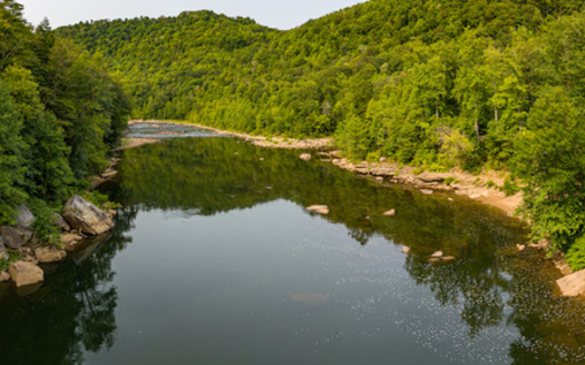 West Virginia's Cheat River flows from five major tributaries, known as the