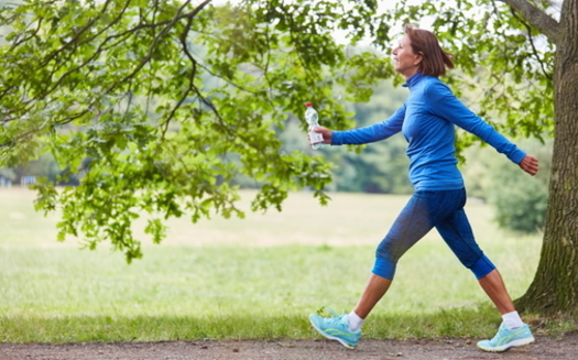 As people look to take off the weight they gained during the pandemic, research confirms walking may also help ward off depression and heart disease. (Adobe Stock)