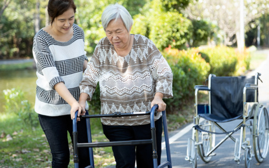 According to AARP Connecticut, 47% of family caregivers have had at least one financial setback, such as having less money for retirement or savings, or cutting back on their own healthcare spending. (Adobe Stock)