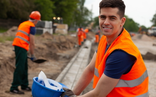 Men accounted for two-thirds of the enrollment last year in Virginia's workforce grant program, which helps folks get jobs in construction and other industries. (Adobe stock)
