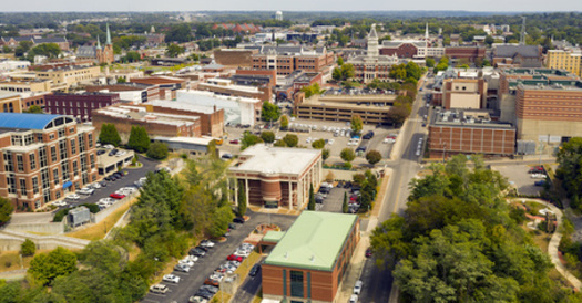 Clarksville is the county seat of Montgomery County, one of 95 counties in Tennessee that will undergo redistricting this fall. (Adobe Stock)