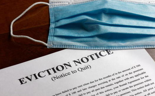 Some tenants' advocates would like Virginia's new budget proposal for American Rescue Plan funding to include money for low-income renters to hire lawyers for eviction cases. (Adobe stock)<br /><br />