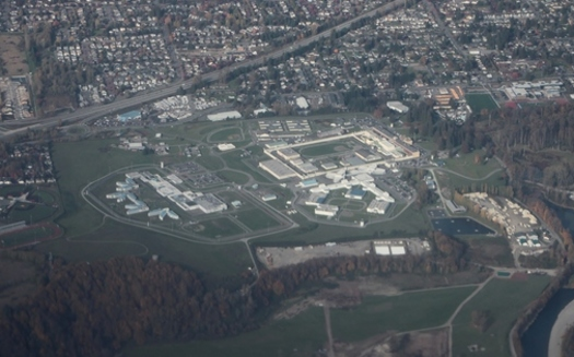 There are more than 2,000 people incarcerated in the Monroe Correctional Complex, located in a small southeast Washington town. (SounderBruce/Wikimedia Commons)