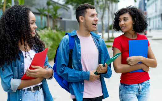 Child well-being experts say being positively connected to peers helps young people develop the tools they need to become more confident and successful. (Adobe Stock)