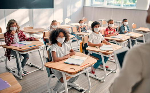 The American Heart Association recommends schools avoid overly harsh discipline as kids and families readjust to the in-person school schedule during the pandemic. (Adobe Stock)<br />