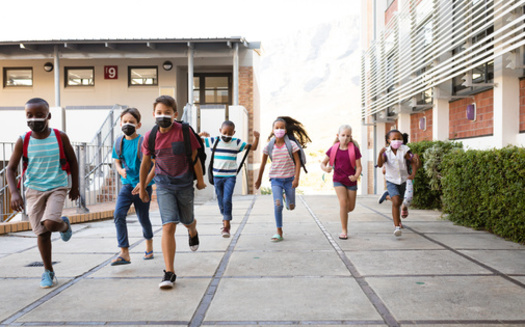 Pennsylvania does not currently mandate students or teachers to wear face coverings and has left it up to school districts to decide. (Adobe Stock)