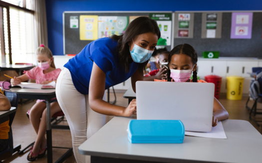 A Georgia study found masking in schools reduced COVID cases by 37%, and improving ventilation in schools reduced transmission 39%. (WaveBreakMediaMicro/Adobe Stock)