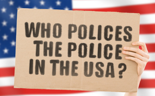 More than 80% of respondents to a recent national poll think police-involved shootings should be investigated by a separate and independent authority. (AndriiKoval/Adobe Stock)<br />