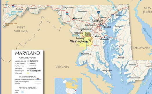 Census data from 2020 show Maryland's population moving to the center of the state, and fair-map advocates say district lines need to shift to represent the change. (maryland.gov)