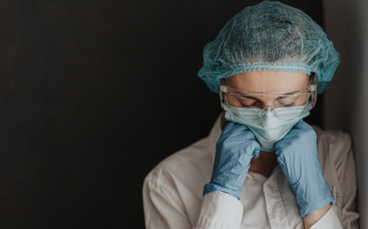 In a Washington Post/Kaiser Family Foundation poll, nearly three in 10 healthcare workers said they were considering leaving the profession. (Adobe Stock)