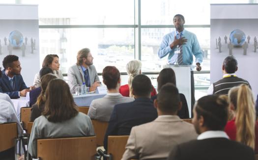 Studies show that having more diverse leadership teams leads to higher innovation revenue. (wavebreak3/Adobe Stock)