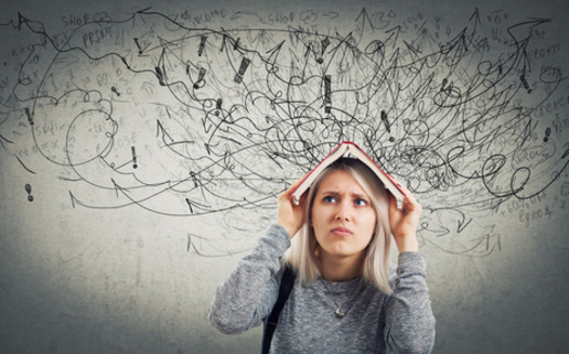Cognitive behavioral therapy can help identify and overcome cognitive distortions and replace them with new, more helpful thoughts. (Adobe Stock)