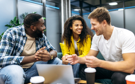 Students participating in a high-impact practice in their first semester are more likely to be enrolled full time, and are much more likely to be enrolled in a learning-support course, according to a Lumina Foundation study. (Adobe Stock)