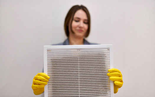 One way to reduce the amount of harmful wildfire pollution entering your home is to use air filters designed to capture harmful PM 2.5 particulates. (Adobe Stock)