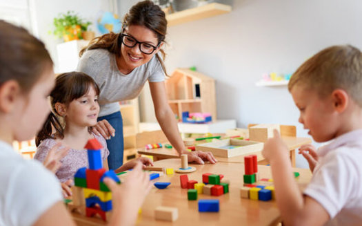 """The """"Build Back Better"""" proposal would significantly increase subsidies for child care. (Lordn/Adobe Stock)"""