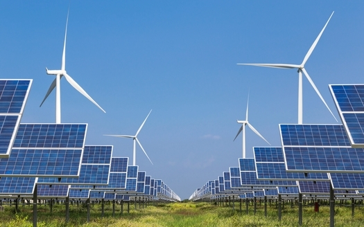 President Joe Biden plans to accelerate the deployment of solar and wind generation in order to decarbonize 40% of the power grid by 2035. (soonthorne/Adobe Stock)