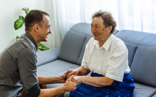 More than 75% of likely Michigan voters in a new poll say they think investments in caregiving fields would create economic growth. (Angelov/Adobe Stock)