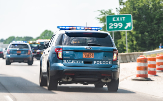 North Carolina's Senate Bill 300 also creates a felony charge for resisting police, if it results in physical injuries to the officer involved. (Adobe Stock)