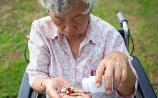 In an AARP poll, 70% of respondents said finding solutions to lower drug prices this year is very important. (Satjawat/Adobe Stock)