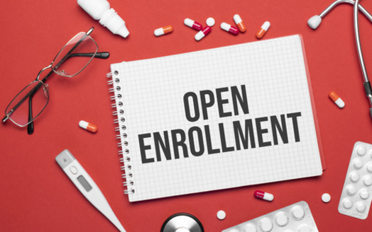 Employers decide their own open-enrollment windows for health insurance plans, typically starting in September. (Andrey/Adobe Stock)