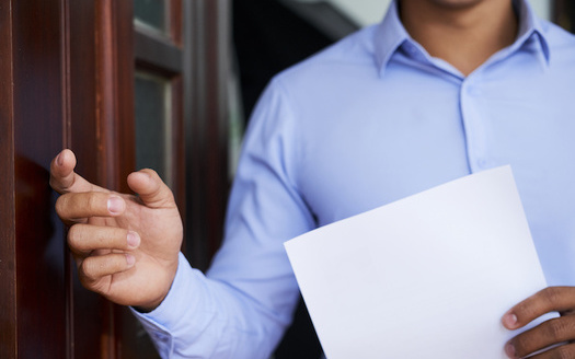 Political canvassing across the country dropped dramatically during the 2020 election due to concerns over COVID-19 transmission via in-person door-knocking. (Adobe Stock)
