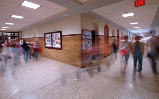 Resource officers in schools have not been shown to protect students against school shootings, according to The Sentencing Project report. (Adobe Stock)