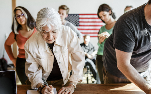 Iowa officials say 90% of state residents who are eligible to vote are currently registered. (Adobe Stock)