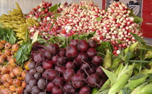 For the next few months, many California farmers markets will offer $15 in vouchers for every $15 spent by families in the Cal Fresh program. (SEE LA)