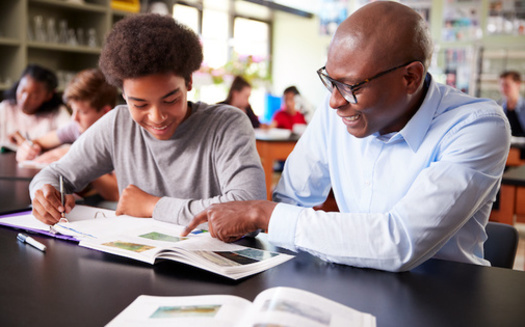 Black men comprise only 2% of the national teacher workforce, according to 2016 data from the Department of Education. (Adobe Stock)