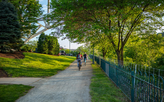 A majority of residents surveyed said parks and outdoor spaces were essential for their mental health, especially during the pandemic. (Adobe Stock)
