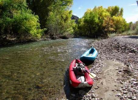 The upper Gila is surrounded by wilderness that offers fishing for native trout, hunting, backpacking, horseback riding, and camping. (Nathan Newcomer)